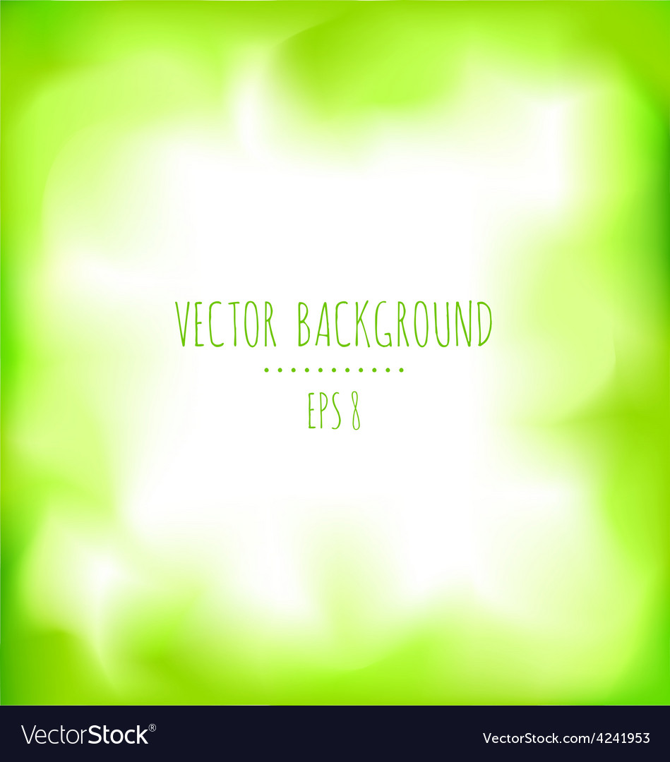 Green abstract background vector | Price: 1 Credit (USD $1)