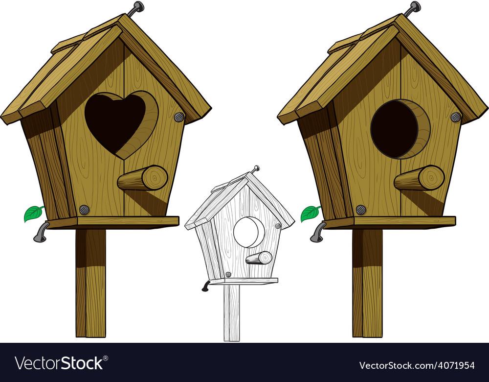 Birdhouse vector   Price: 3 Credit (USD $3)