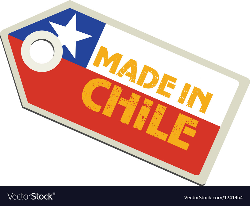 Made in chile vector | Price: 1 Credit (USD $1)