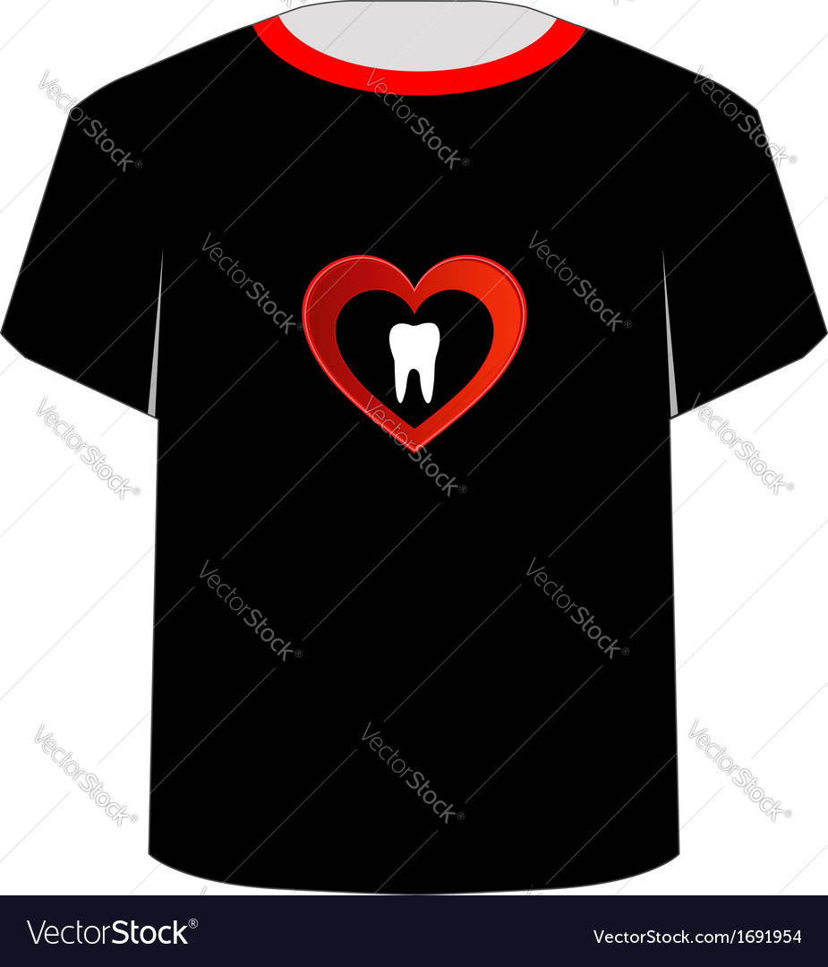T shirt template- sweet tooth vector | Price: 1 Credit (USD $1)