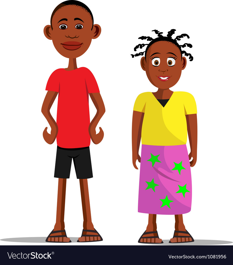 Brother sister vector | Price: 3 Credit (USD $3)