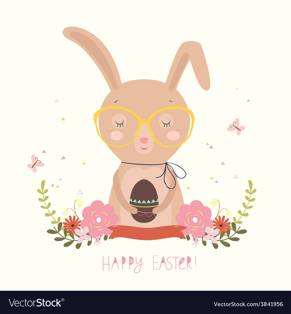 Easter day background or card vector | Price: 1 Credit (USD $1)