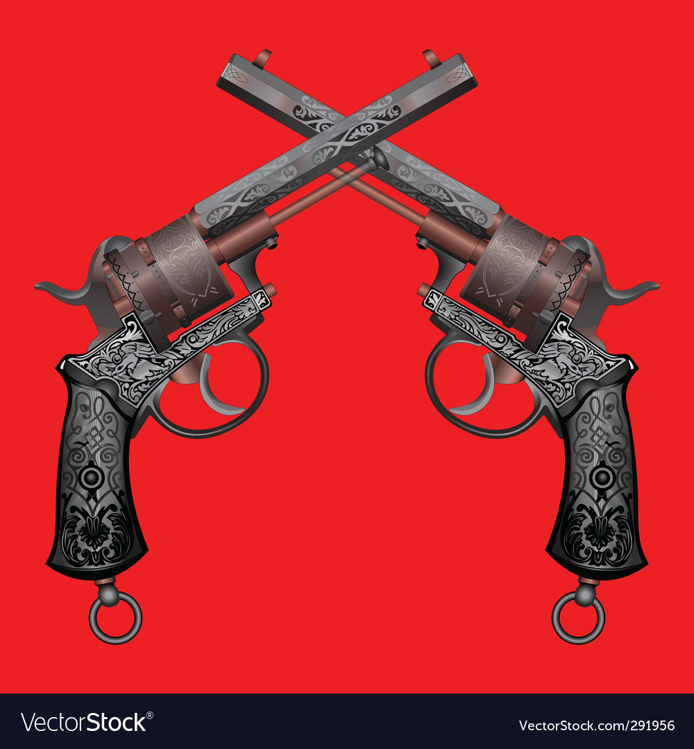 Old gun vector | Price: 1 Credit (USD $1)