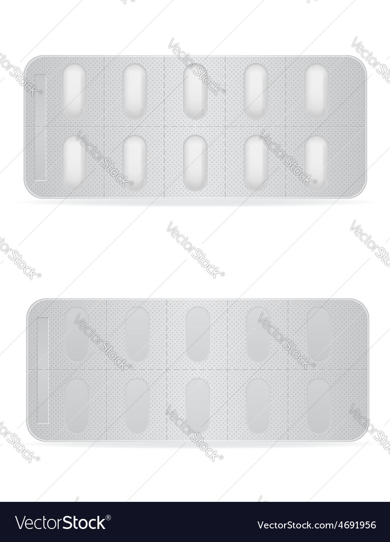Pill in package 07 vector | Price: 1 Credit (USD $1)