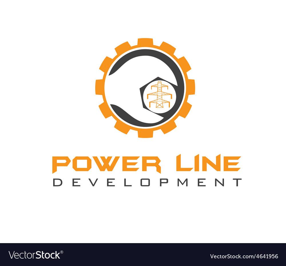 Power line development vector | Price: 1 Credit (USD $1)