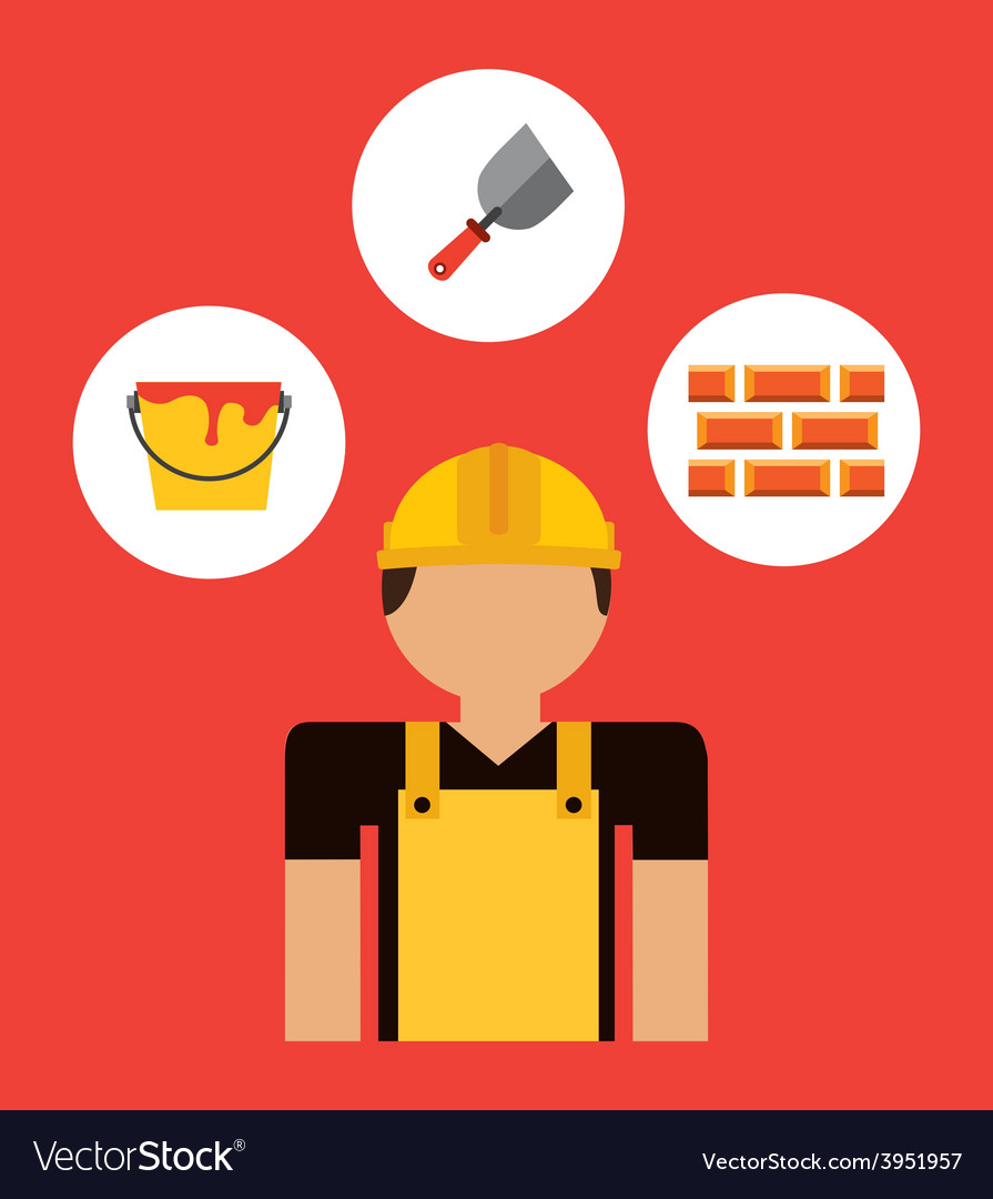 Builder man vector   Price: 1 Credit (USD $1)