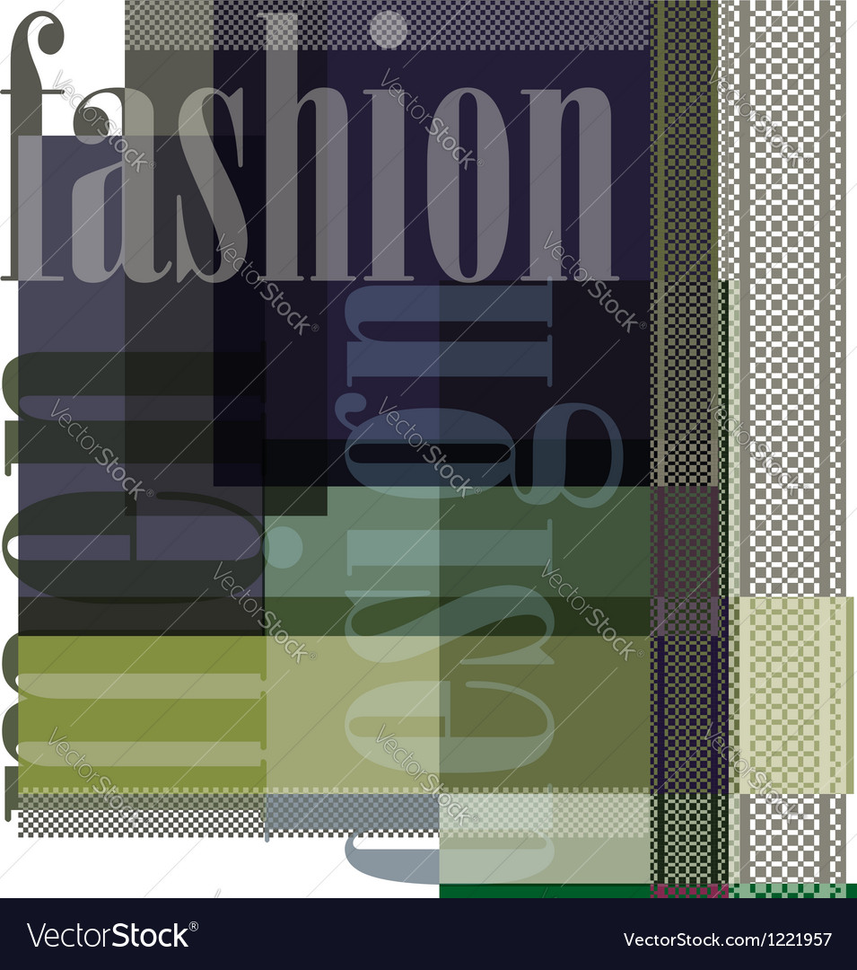 Fashion abstract background vector | Price: 1 Credit (USD $1)