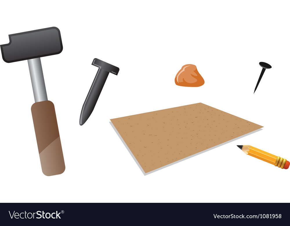 Carving tools vector | Price: 1 Credit (USD $1)