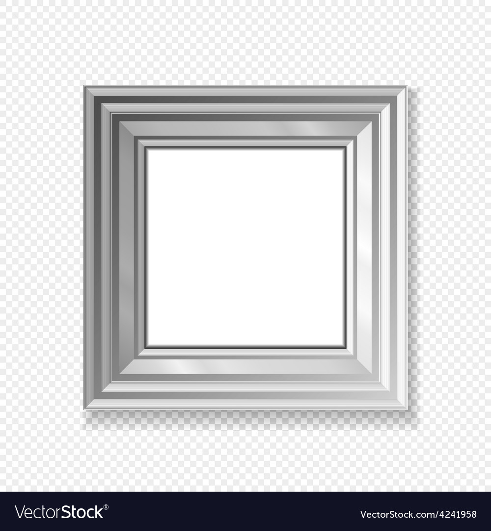 Hanging paper sign frame grey picture shadow vector | Price: 1 Credit (USD $1)