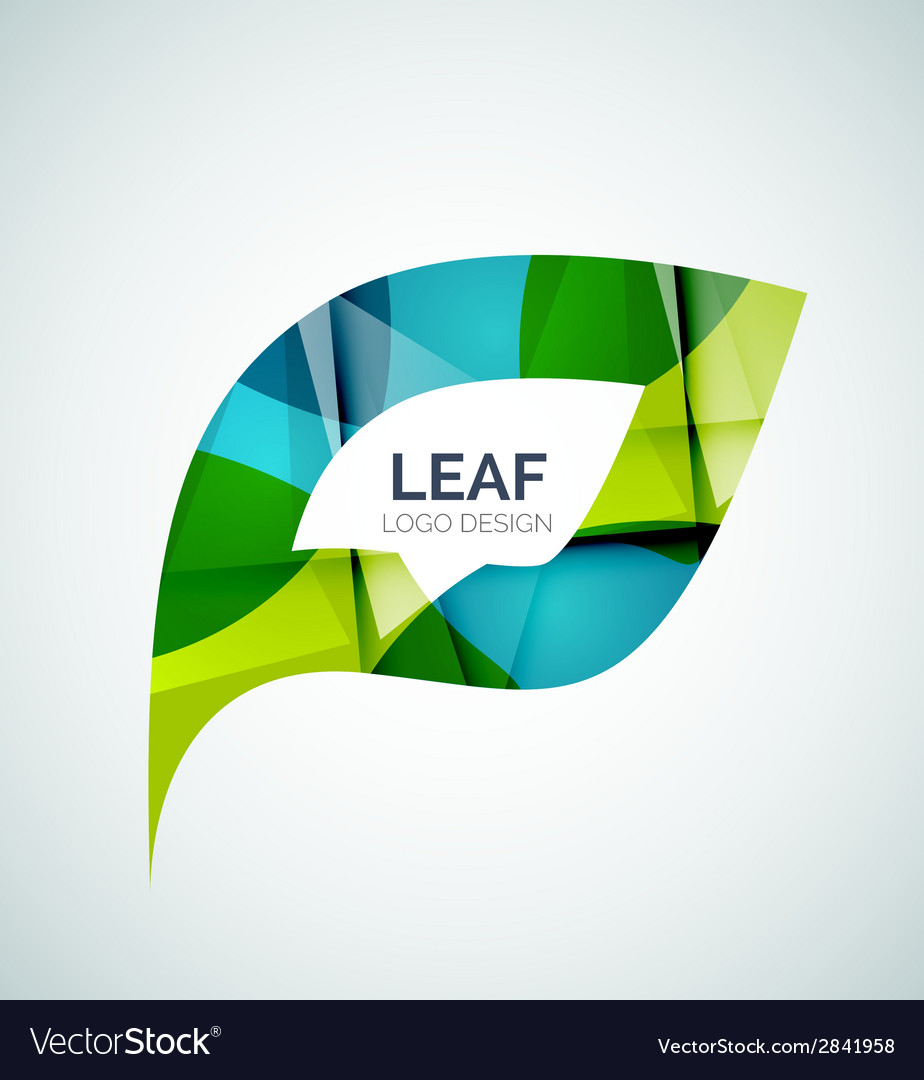 Leaf logo vector | Price: 1 Credit (USD $1)