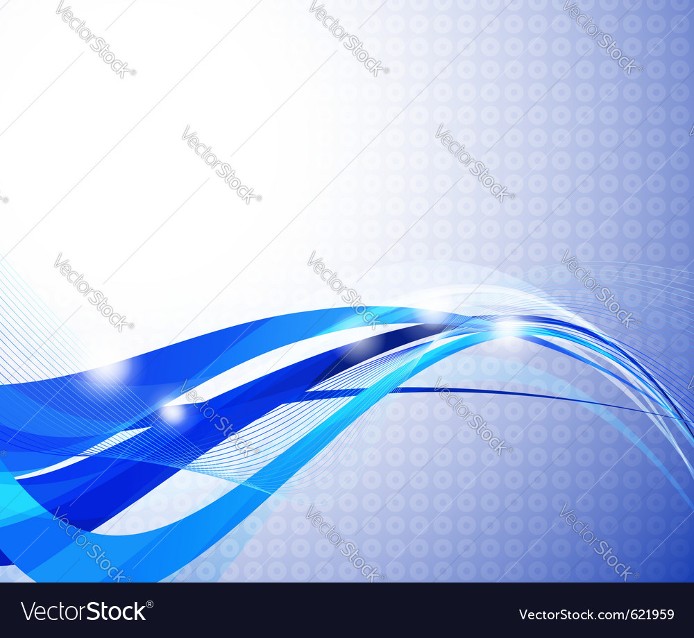 Abstract transparent wave background vector | Price: 1 Credit (USD $1)