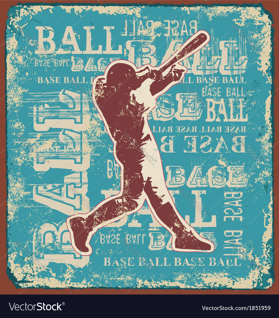 Base ball sport vector | Price: 1 Credit (USD $1)