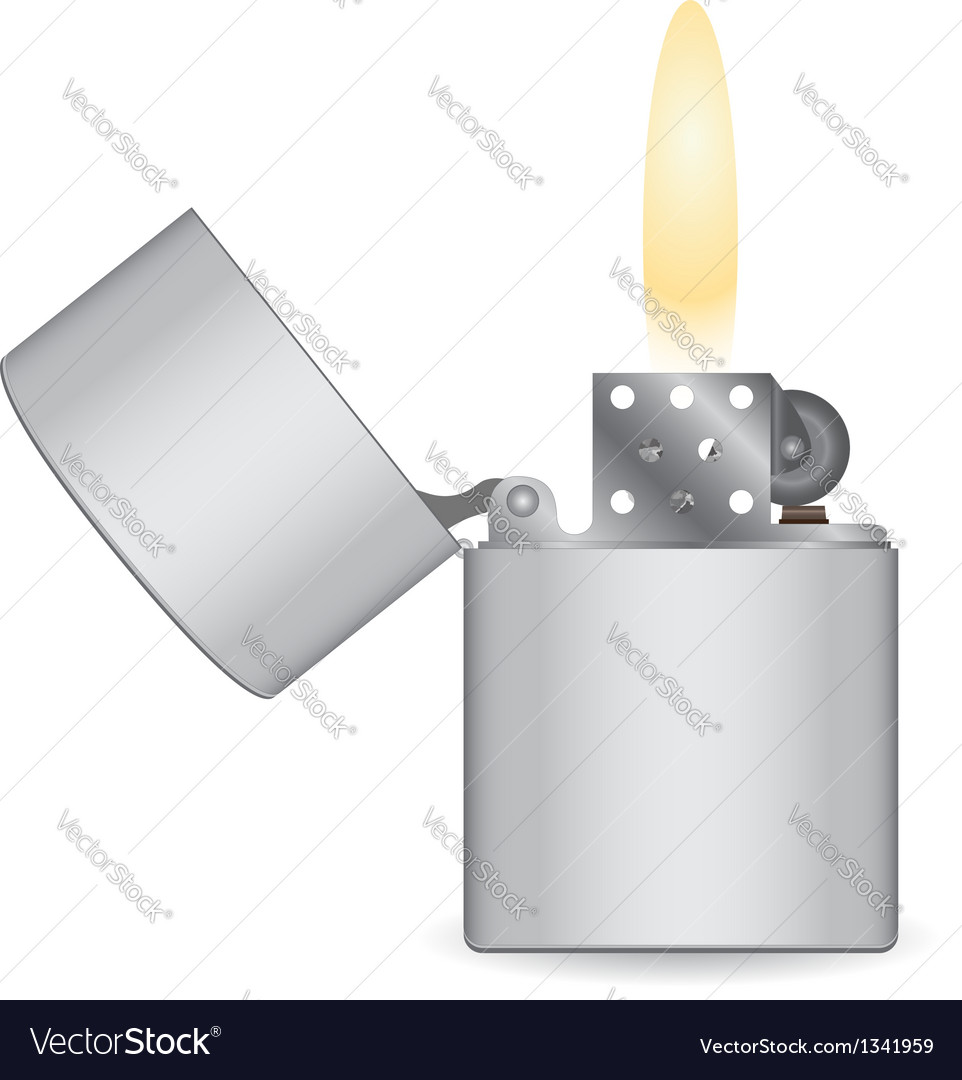Lighter icon vector | Price: 1 Credit (USD $1)
