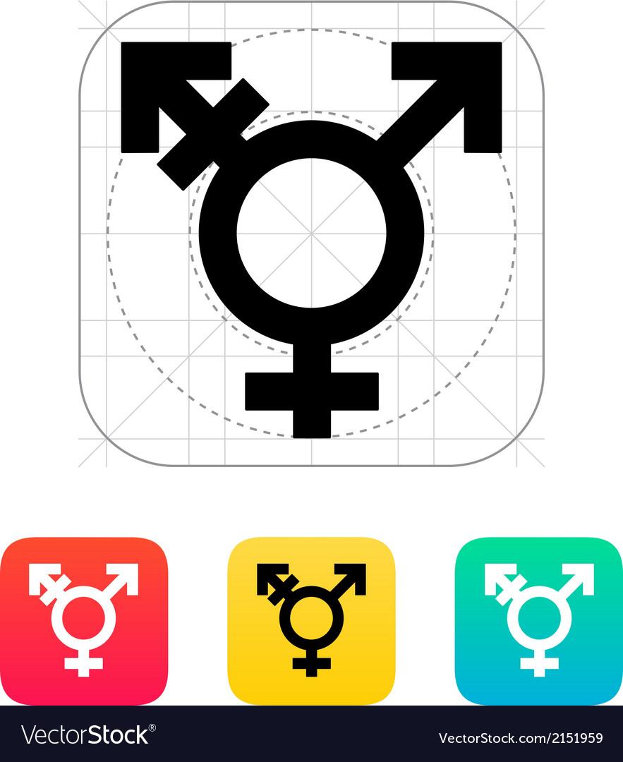 Transgender icon vector | Price: 1 Credit (USD $1)