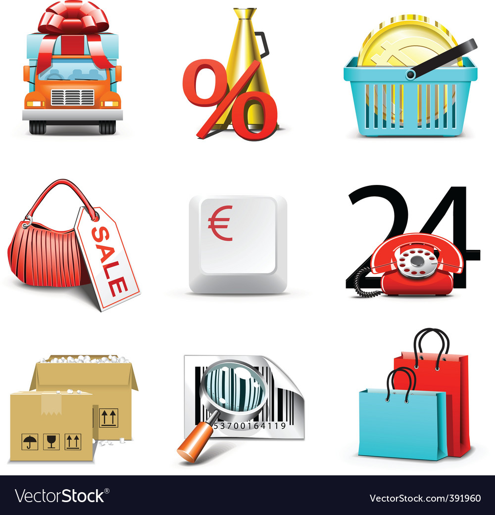 Shopping icons | bella series vector | Price: 5 Credit (USD $5)