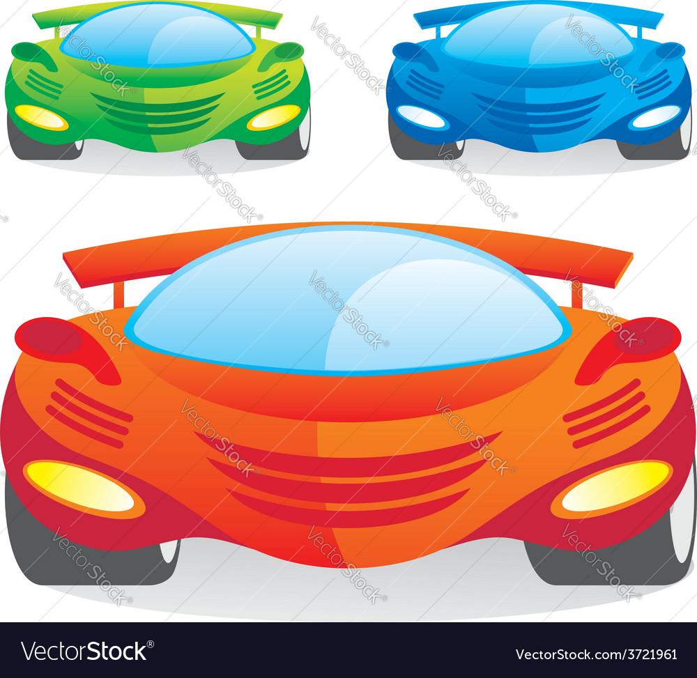 Car color vector | Price: 1 Credit (USD $1)