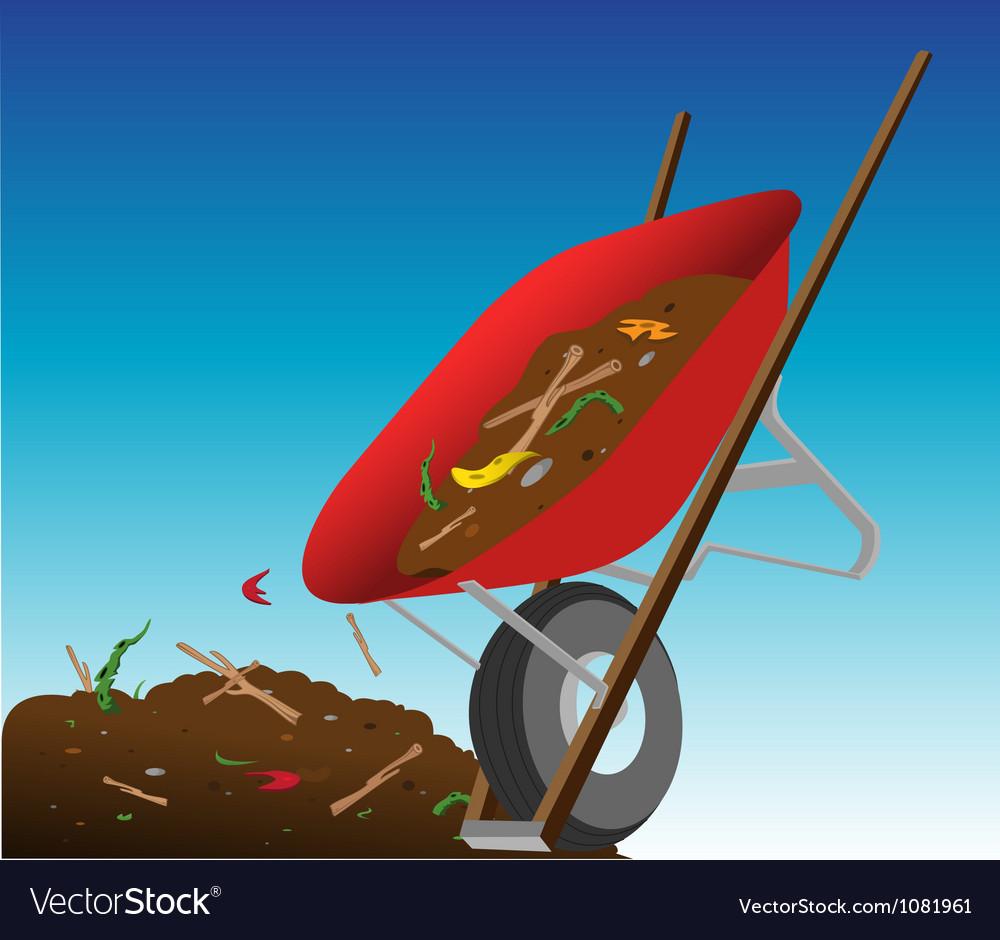 Compost heap vector | Price: 1 Credit (USD $1)