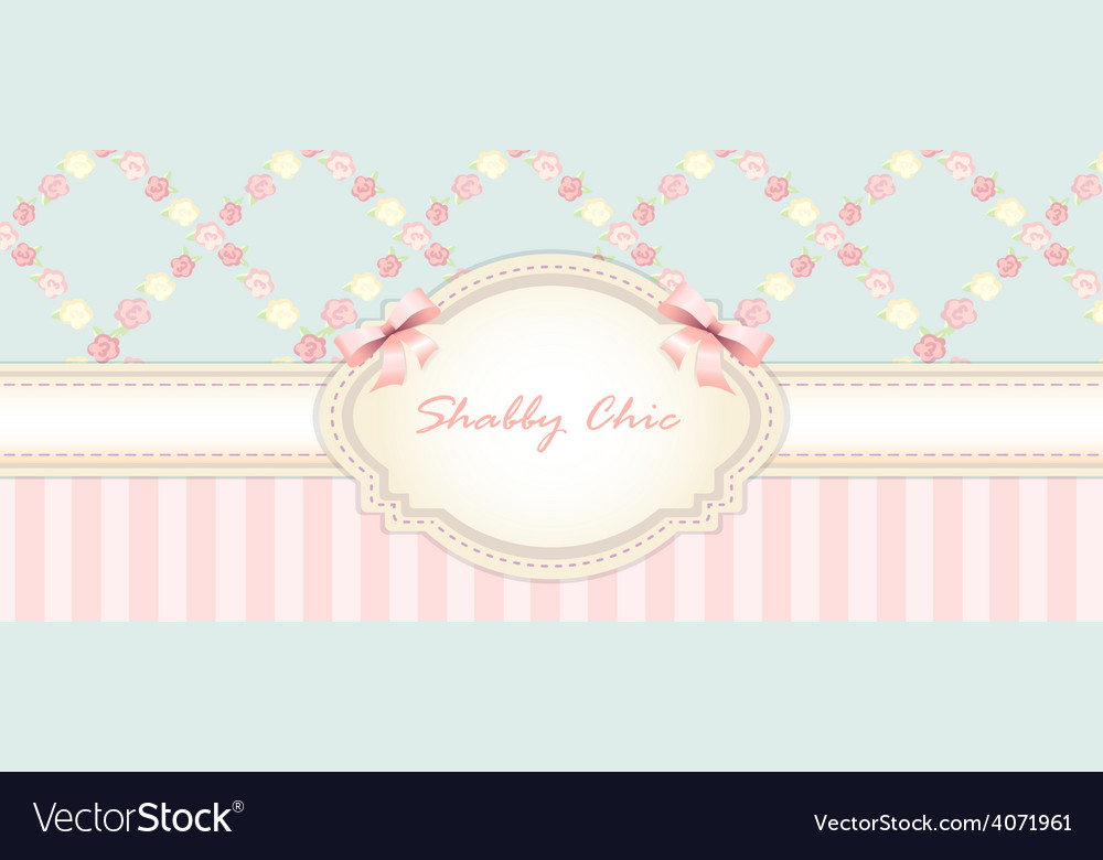 Shabby chic congratulations card womens day vector | Price: 1 Credit (USD $1)