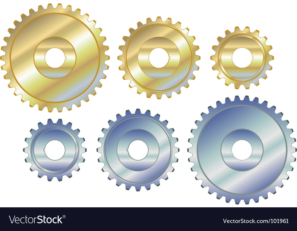 Sprocket cogs vector | Price: 1 Credit (USD $1)