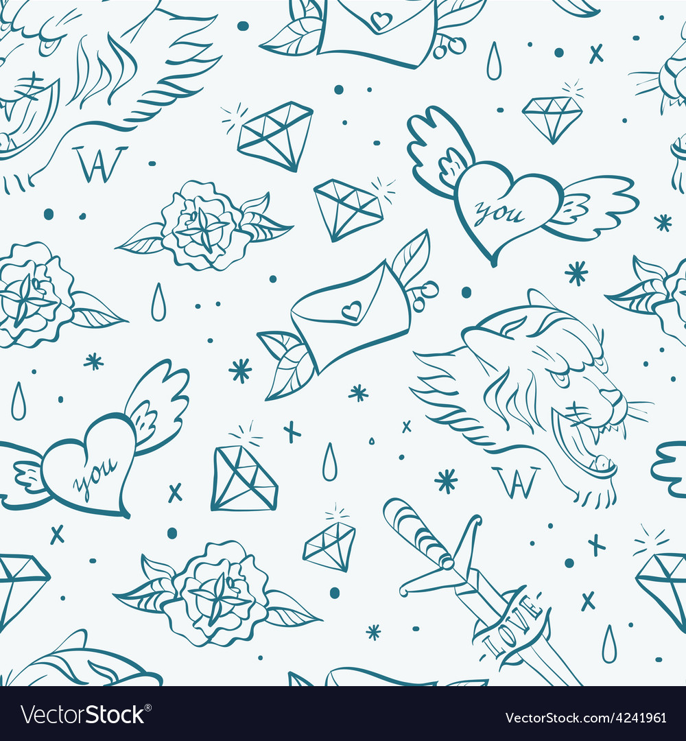 Tattoo pattern 2 vector | Price: 1 Credit (USD $1)