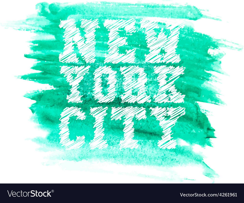 Vintage new york typography t-shirt graphics vector | Price: 1 Credit (USD $1)