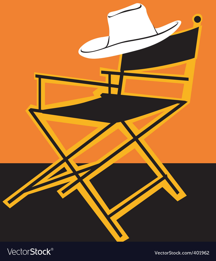 Chair and hat vector | Price: 1 Credit (USD $1)