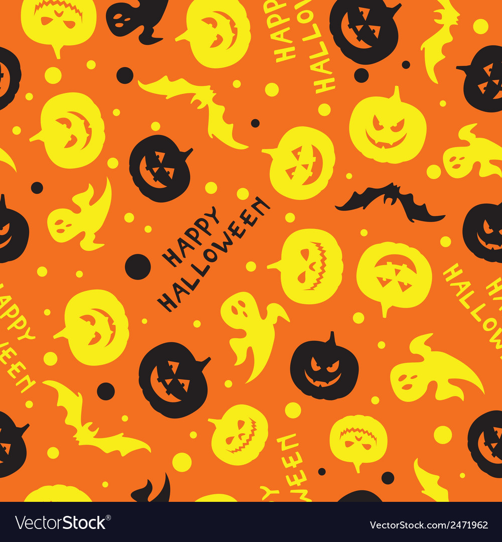 Happy halloween card design vector   Price: 1 Credit (USD $1)