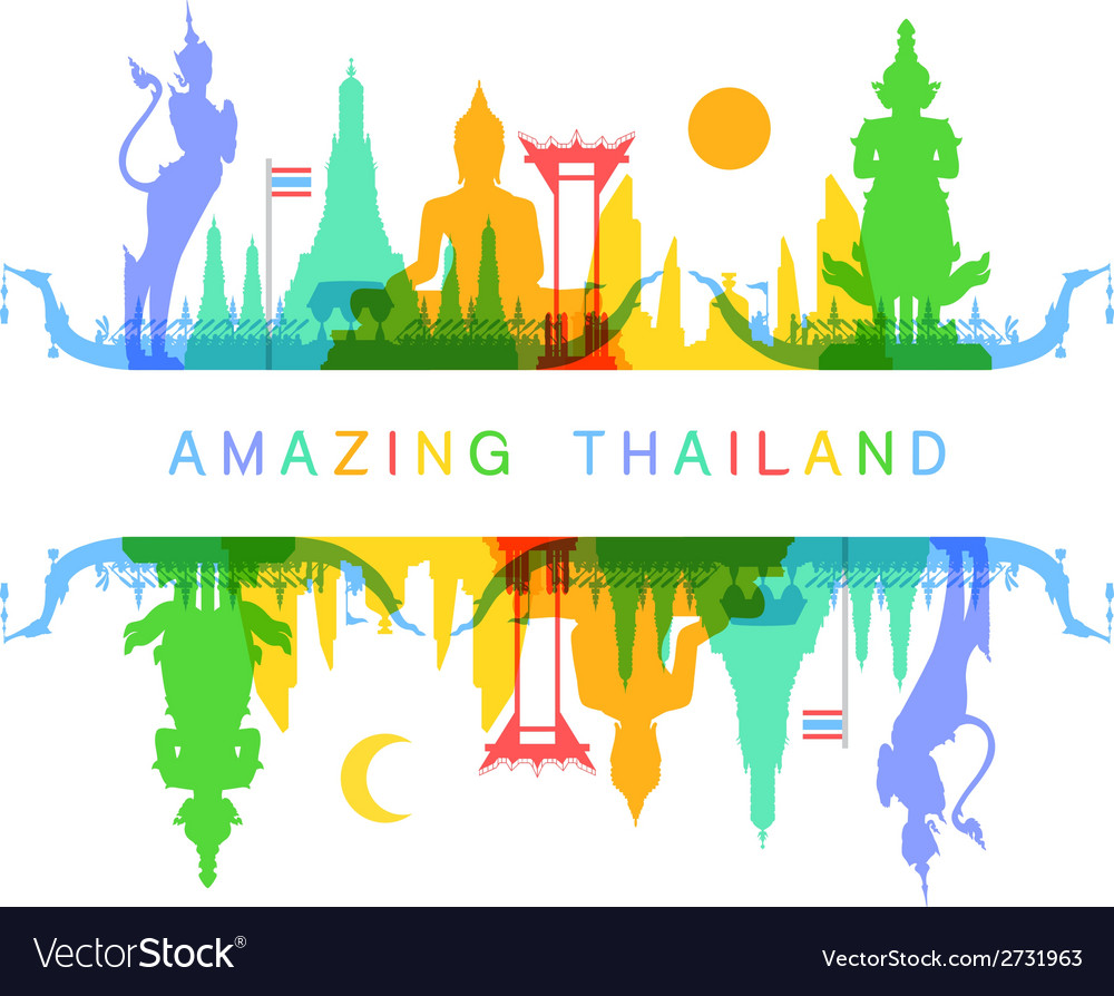 Amazing thailand vector | Price: 1 Credit (USD $1)