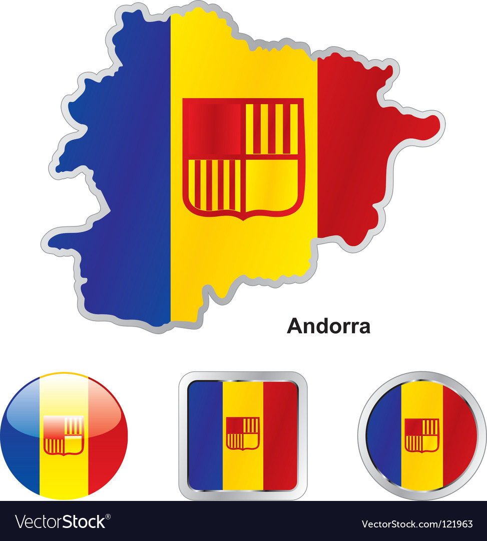 Andorra vector | Price: 1 Credit (USD $1)