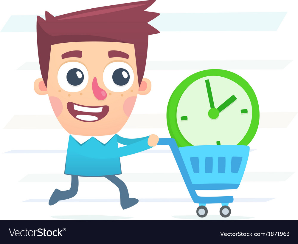 Buy extra time vector | Price: 1 Credit (USD $1)