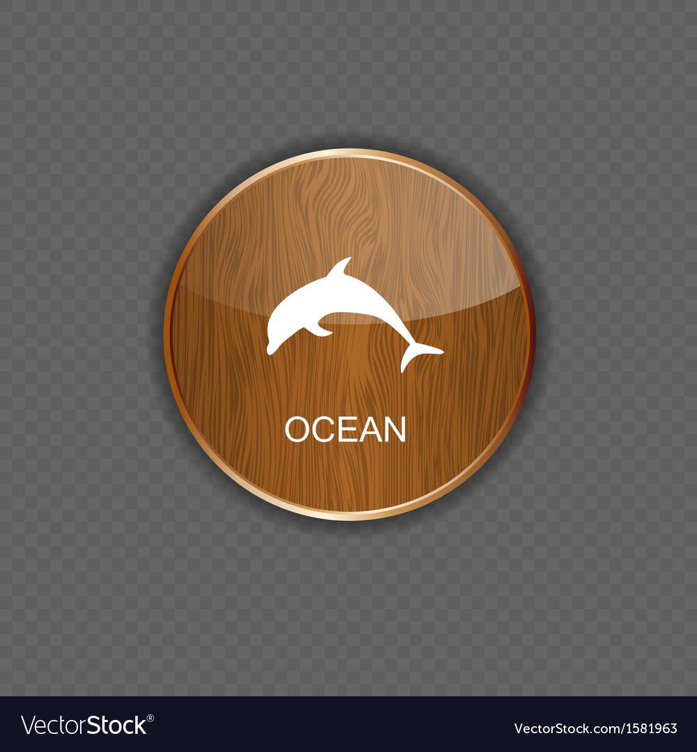 Ocean application icons vector | Price: 1 Credit (USD $1)