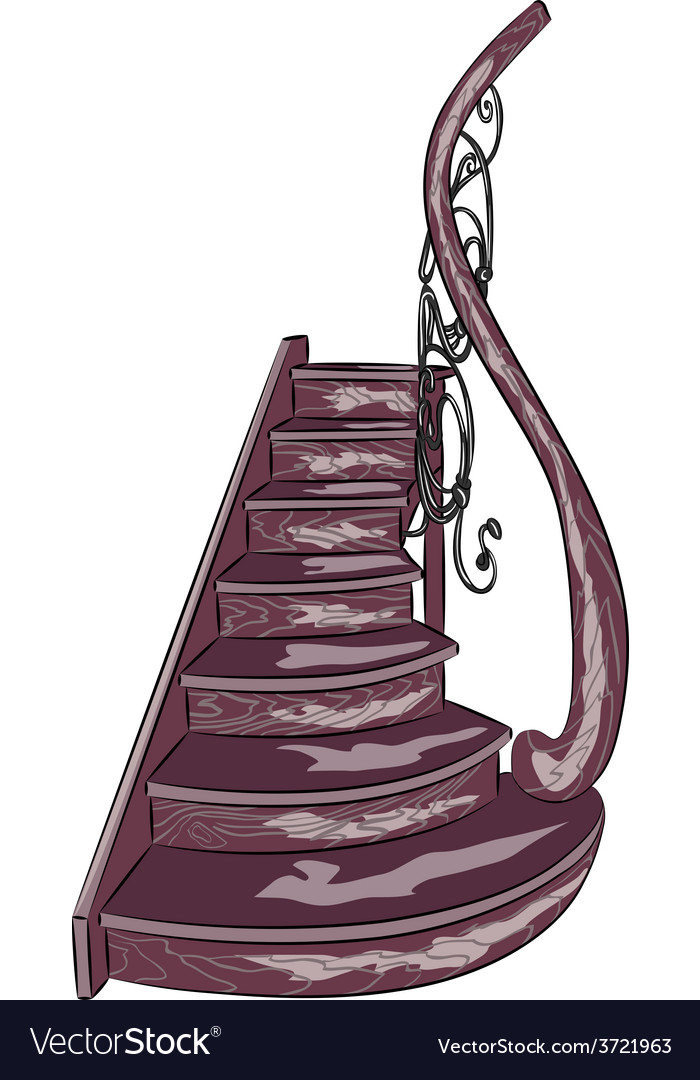 Staircase a vector | Price: 1 Credit (USD $1)