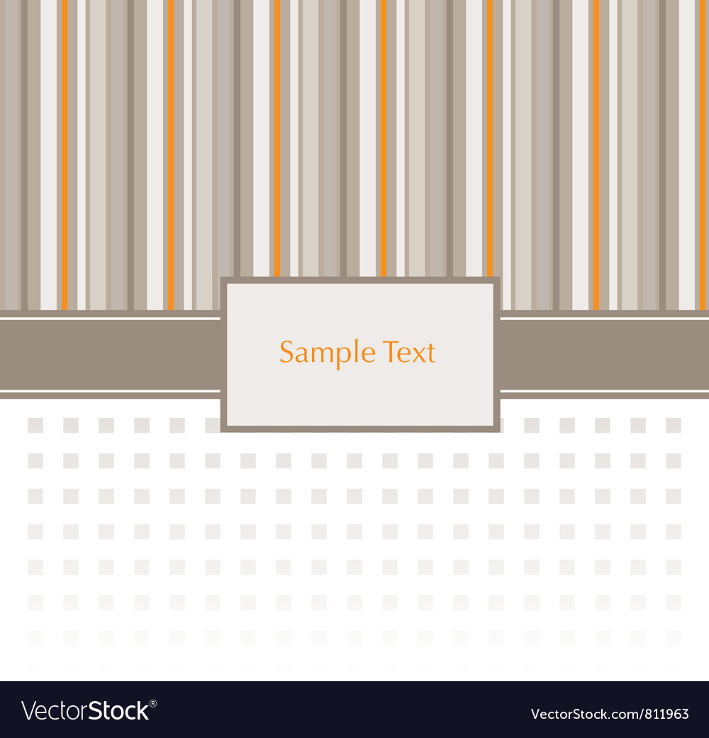 Stripey invitation pattern vector | Price: 1 Credit (USD $1)
