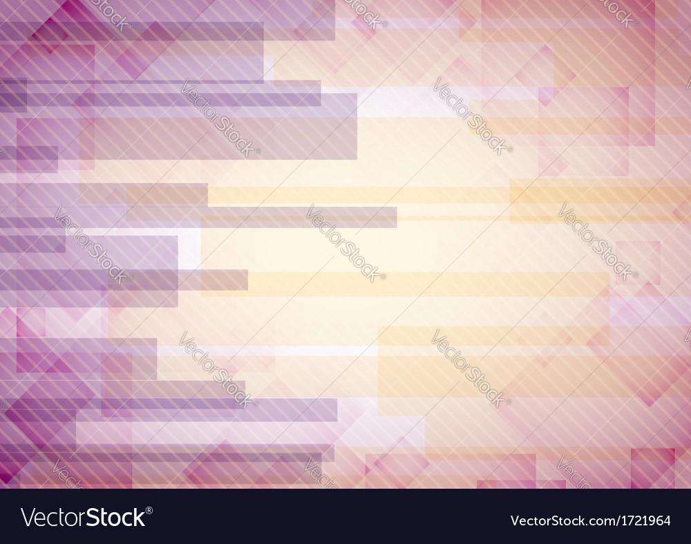 Abstract pink rectangle shapes background vector | Price: 1 Credit (USD $1)