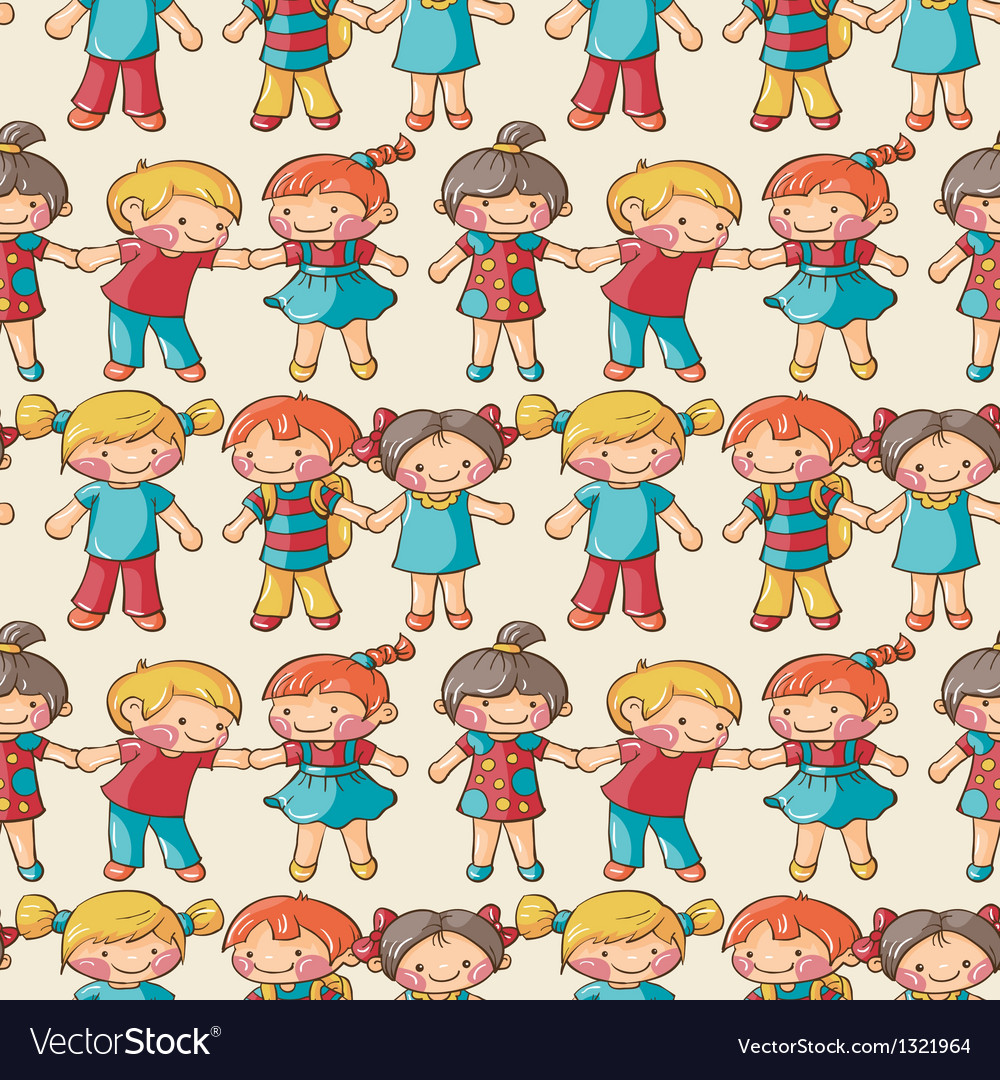 Children vector | Price: 3 Credit (USD $3)