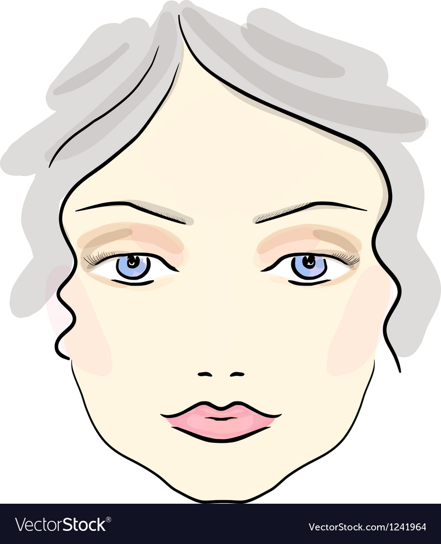 Classical daily make up pattern vector | Price: 1 Credit (USD $1)