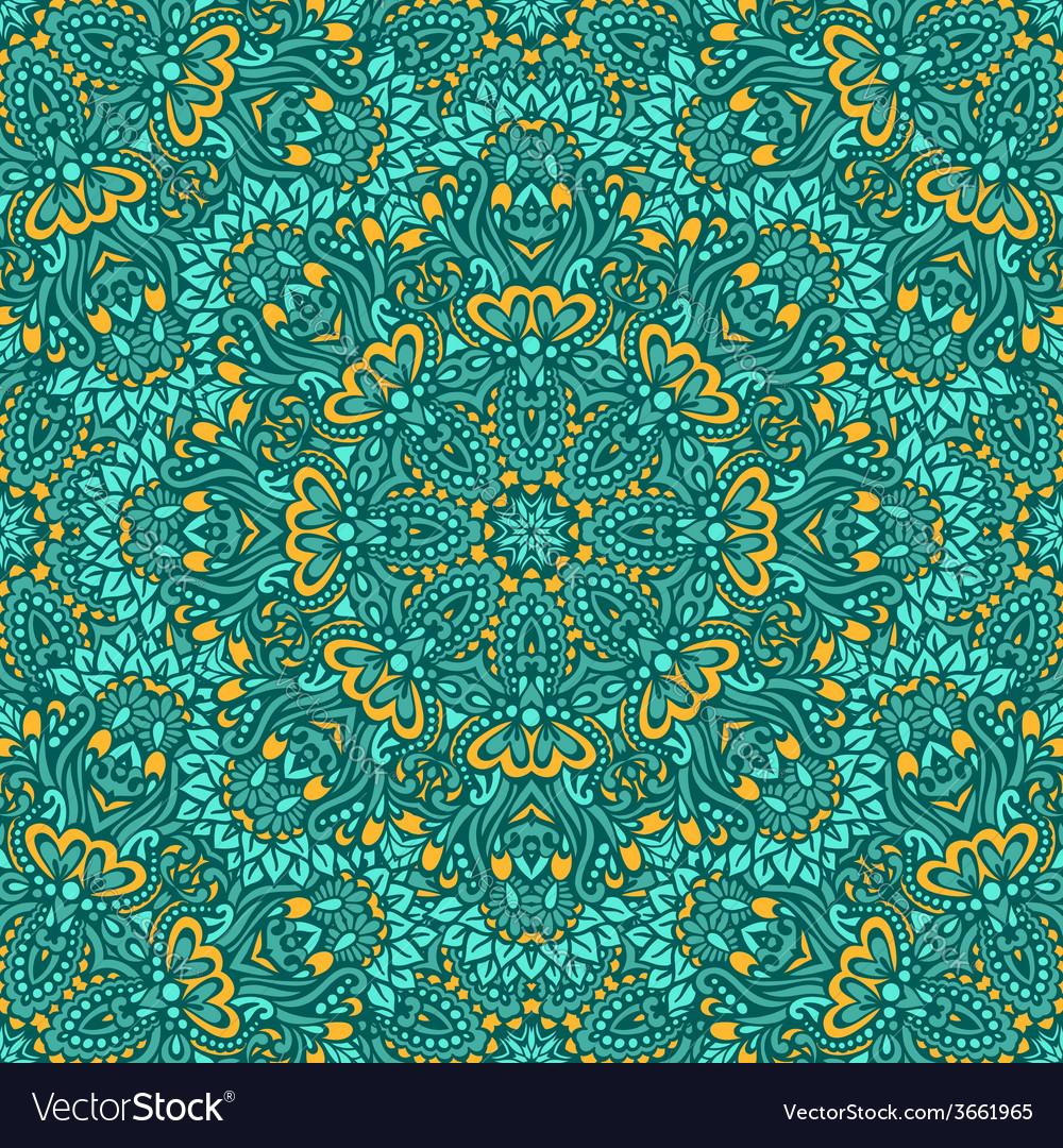 Arabesque seamless pattern vector   Price: 1 Credit (USD $1)