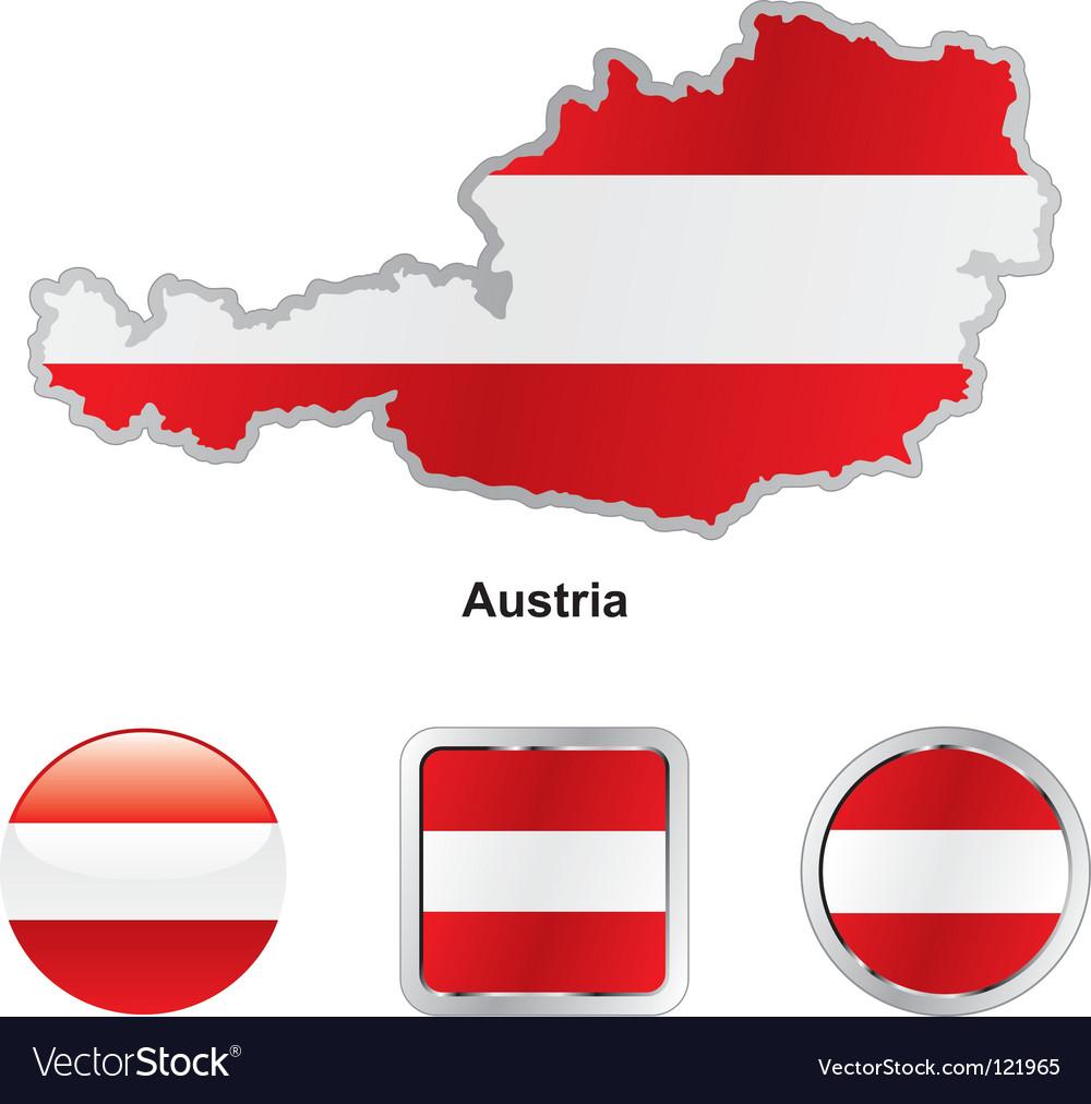 Austria vector   Price: 1 Credit (USD $1)