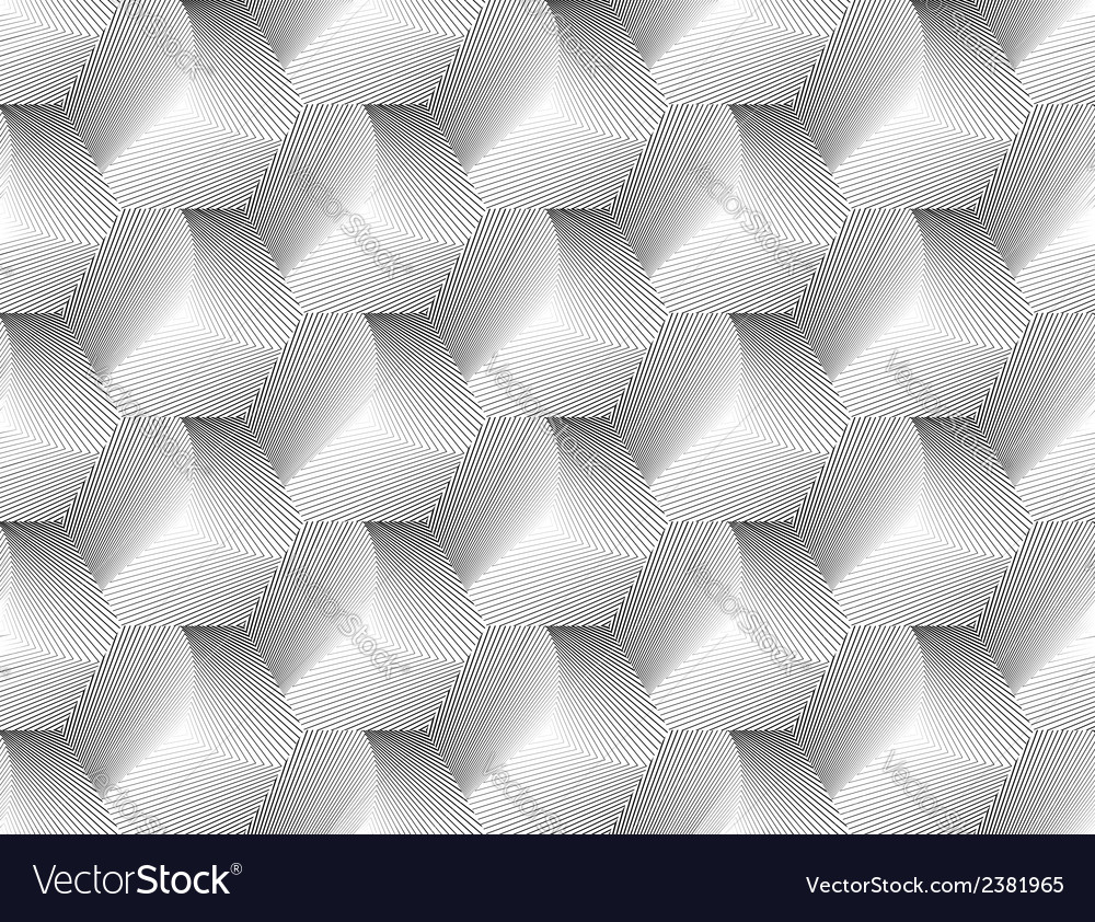 Design seamless hexagon geometric pattern vector | Price: 1 Credit (USD $1)