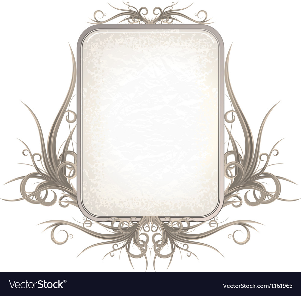 Vintage gothic frame with free space for your text vector | Price: 1 Credit (USD $1)