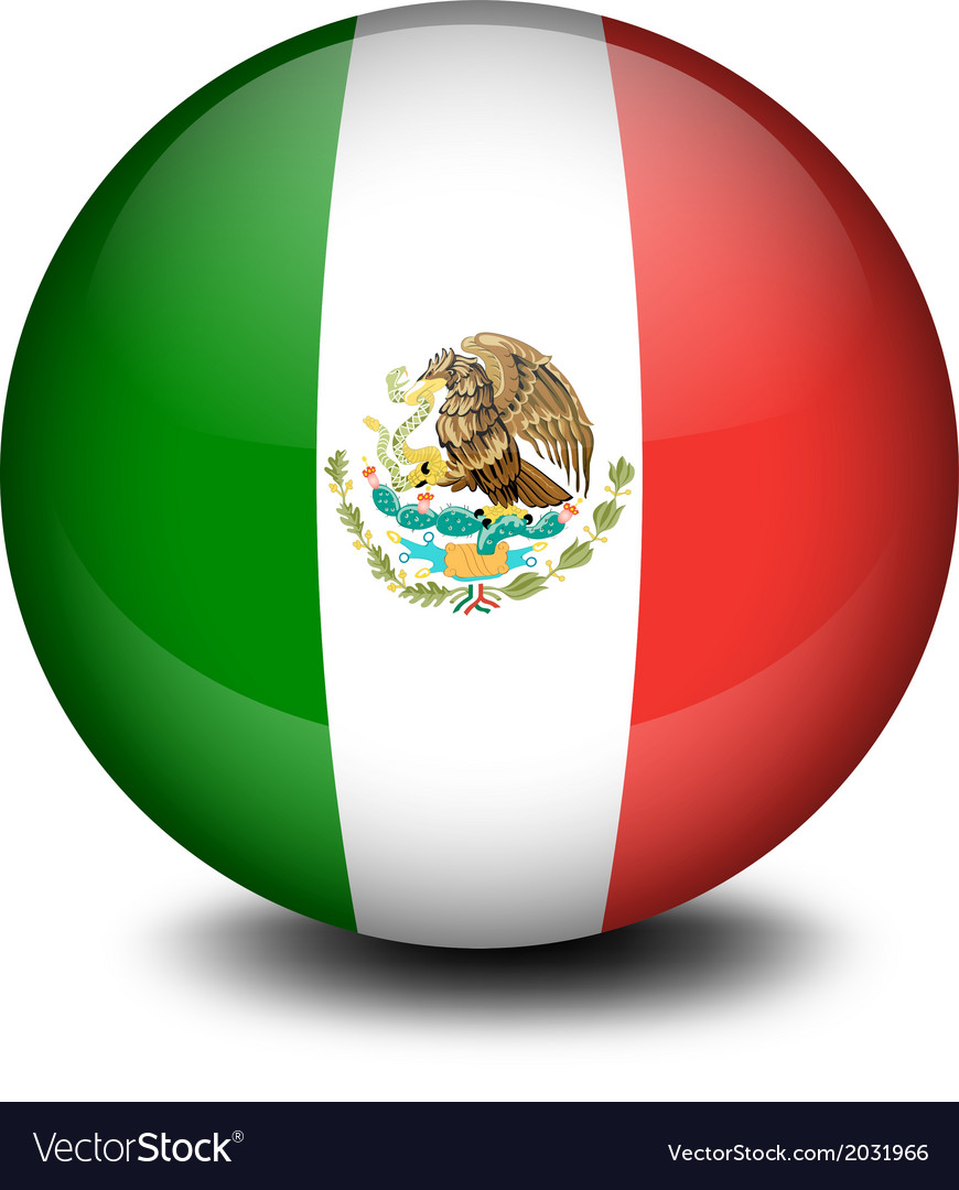 A soccer ball from mexico vector | Price: 1 Credit (USD $1)