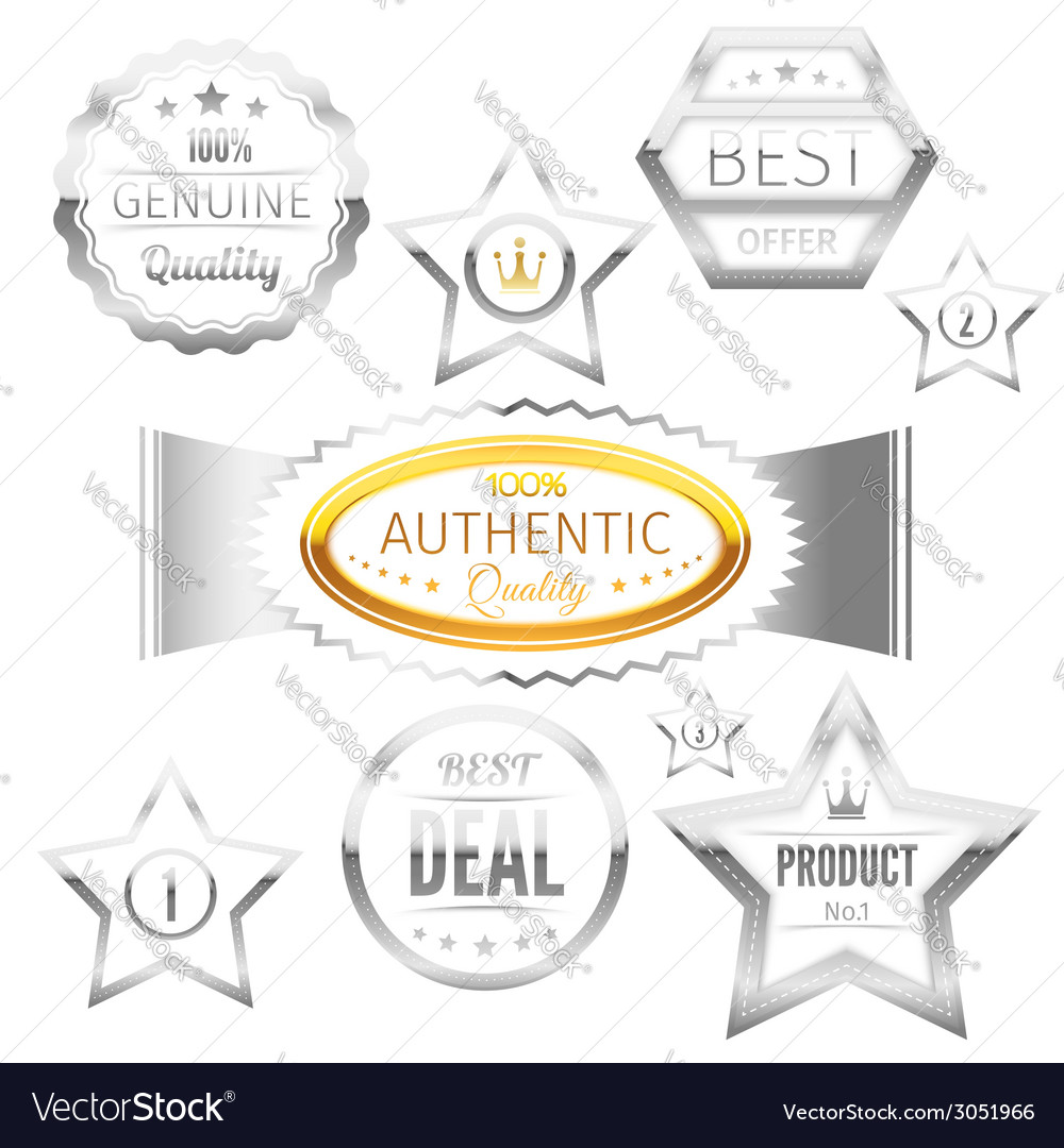 Best choice sign tags badges collection vector | Price: 1 Credit (USD $1)