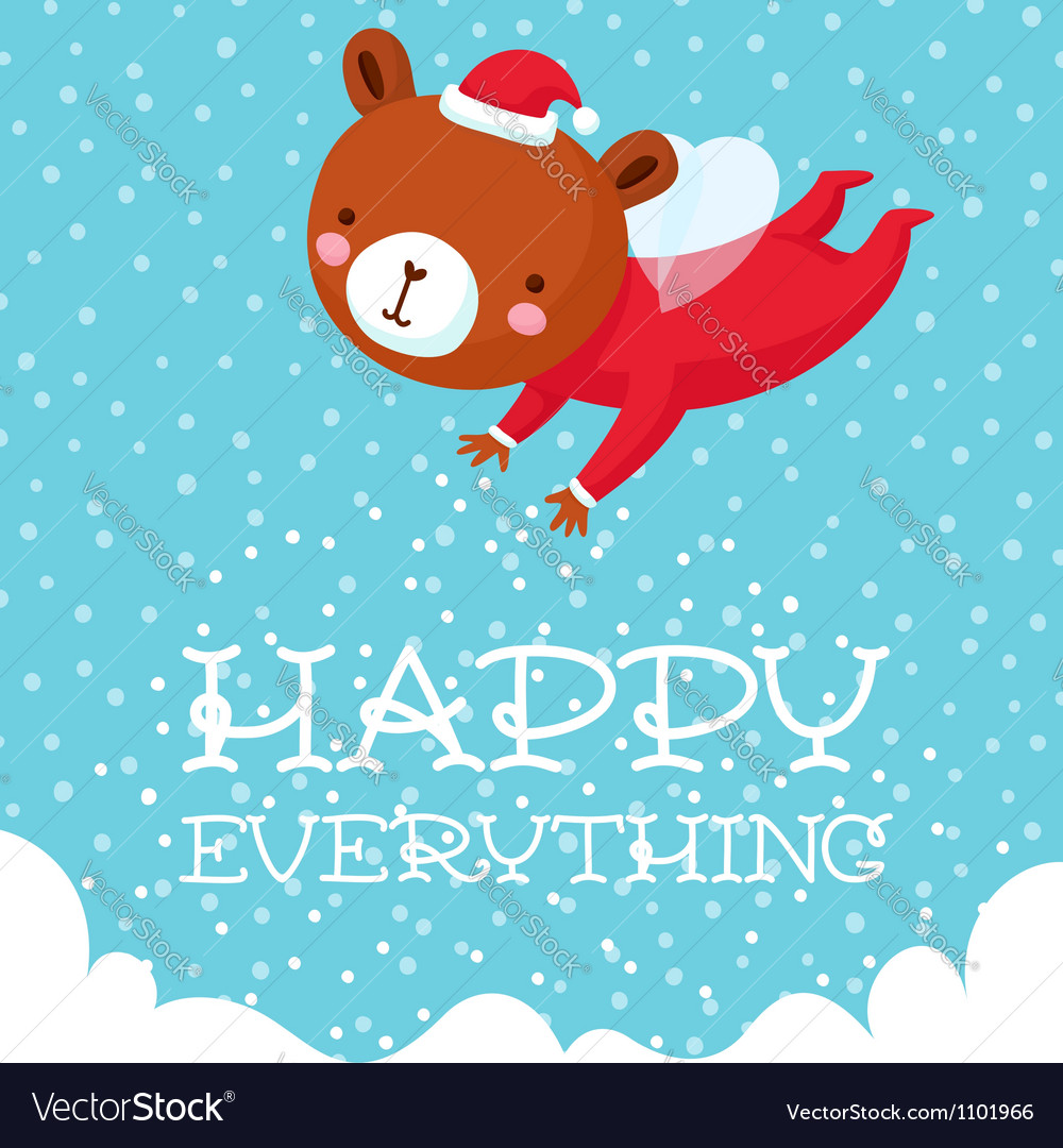 Happy everything vector | Price: 1 Credit (USD $1)