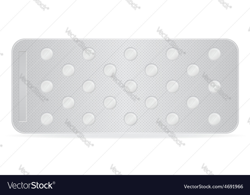 Pill in package 09 vector | Price: 1 Credit (USD $1)