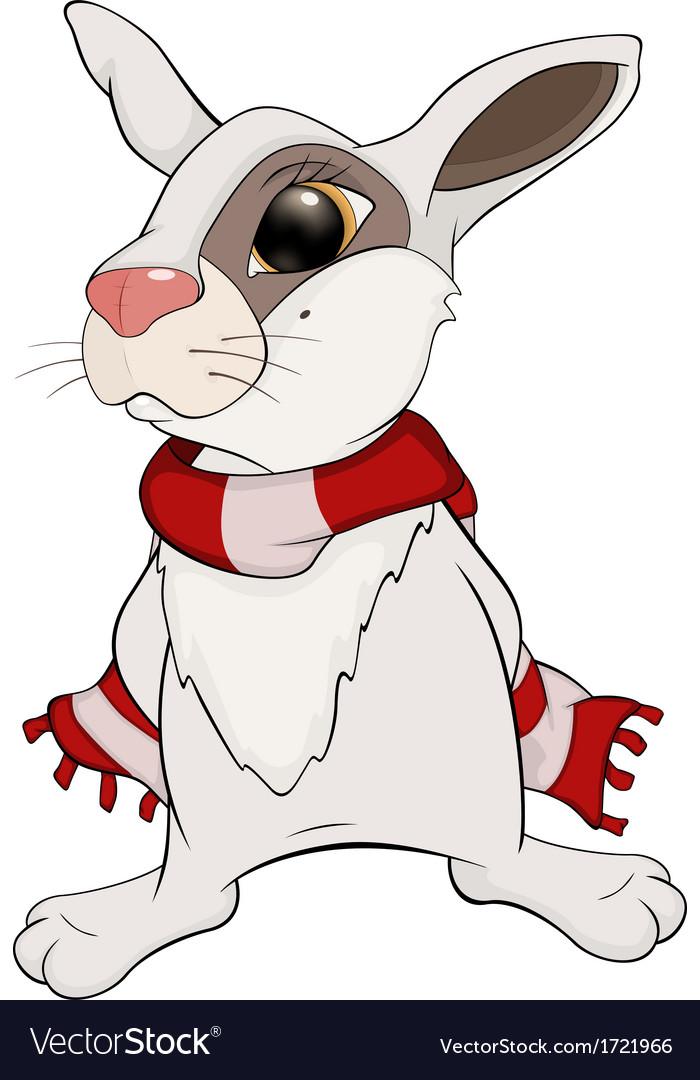 Rabbit cartoon vector | Price: 1 Credit (USD $1)