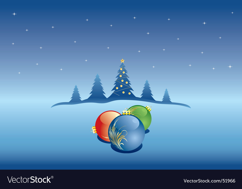 Winter christmas snow vector | Price: 1 Credit (USD $1)