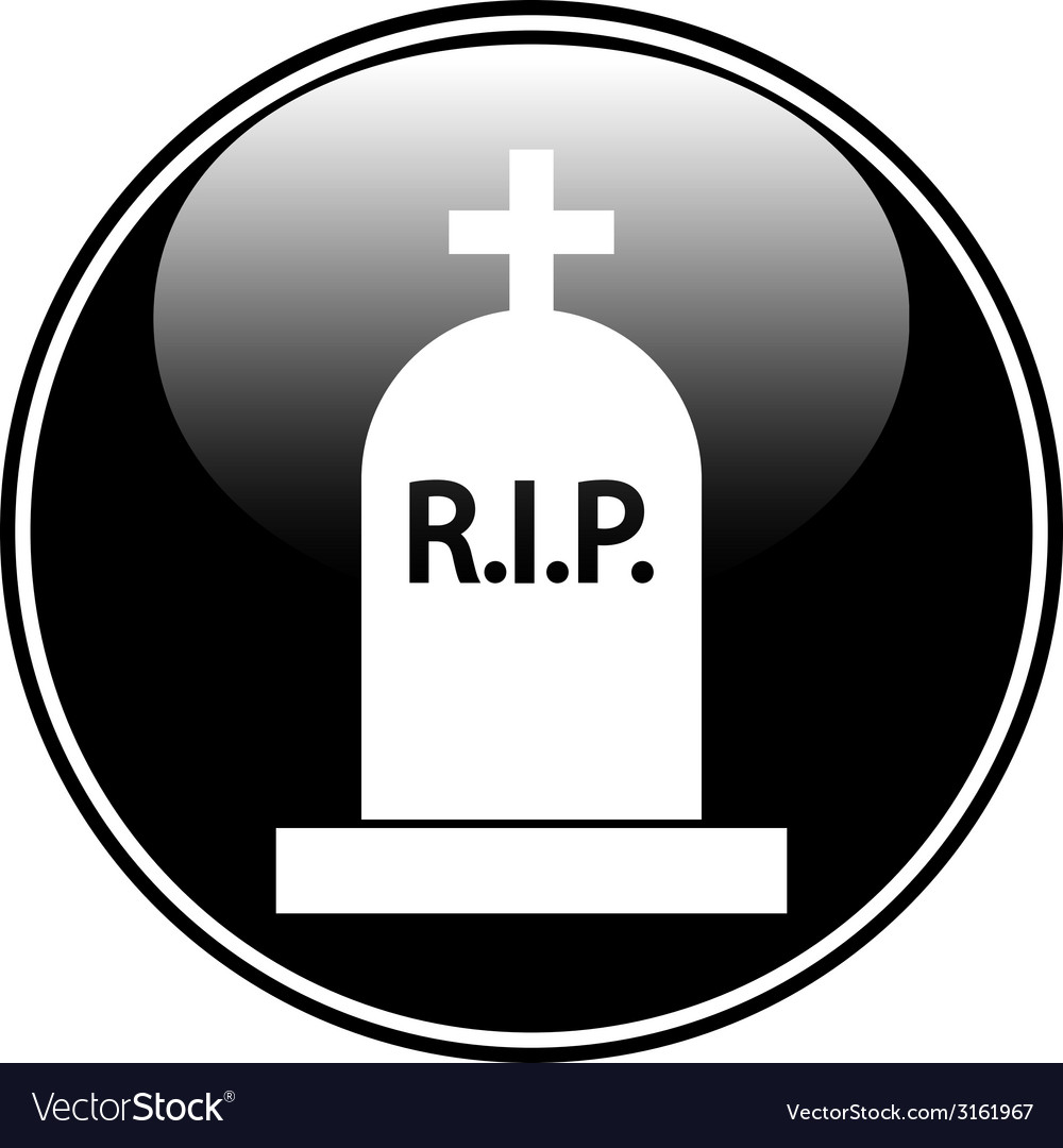 Grave symbol button vector | Price: 1 Credit (USD $1)