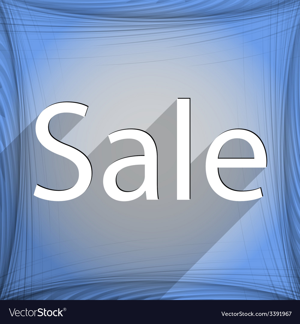 Sale tag icon symbol flat modern web design with vector | Price: 1 Credit (USD $1)