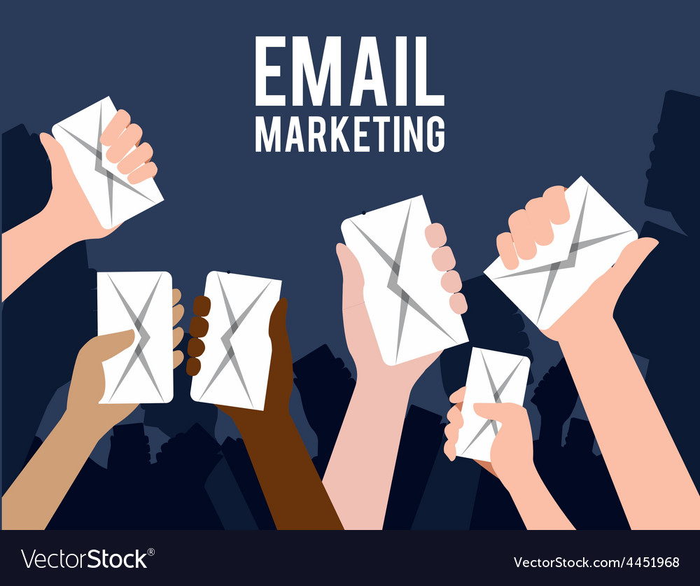 Email marketing design vector | Price: 1 Credit (USD $1)