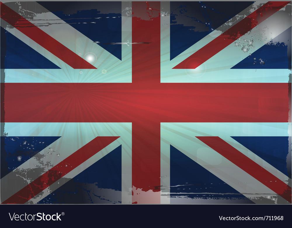 English flag vector | Price: 1 Credit (USD $1)